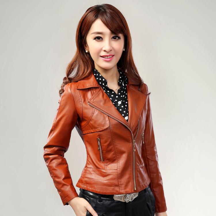 Кожаная куртка Yu are still products  2013 PU