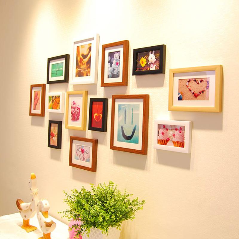 包邮欧式新款创意 组合照片墙婚房卧室装修环保家居相片墙 包邮潮