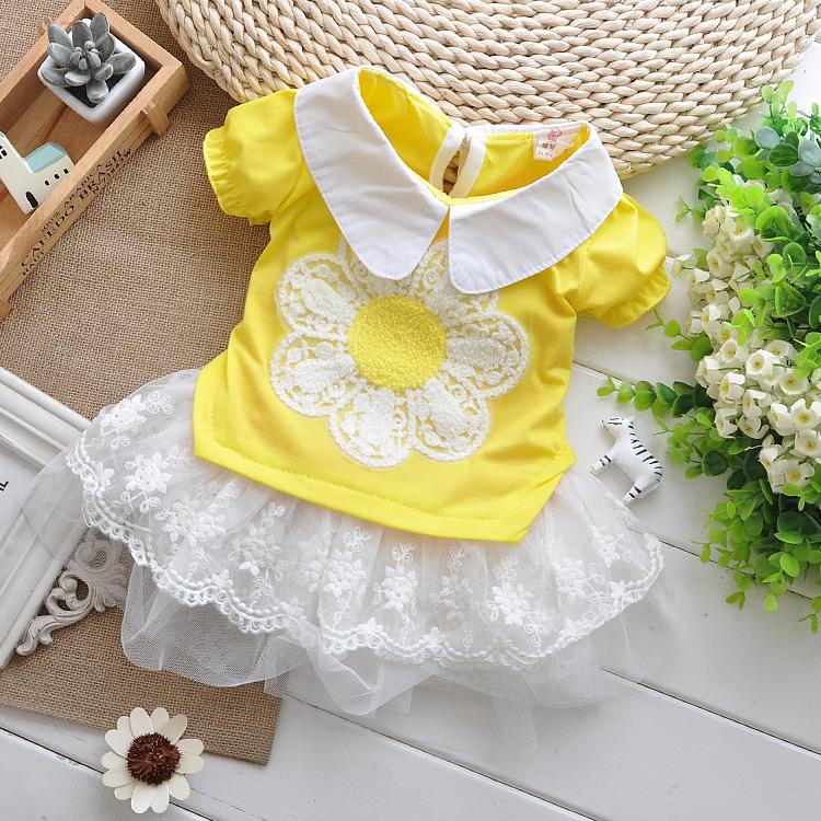 Цвет: Большой цветок юбка желтый