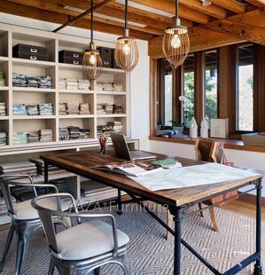 Стол обеденный Военногомышцы французский загородном стиле деревянный чердак стол написание стол столы сосны и 10 пакет штамп