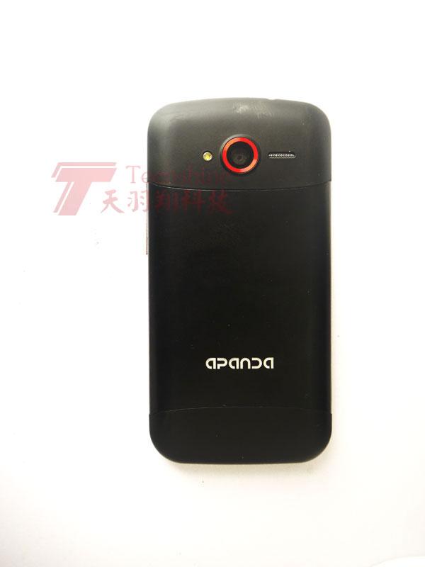 Мобильный телефон Apanda A80t 1688 588 4.0 1G Android / Эндрюс Емкостный сенсорный экран 4,3 дюйма Wi-Fi доступ в Интернет, GPS навигация, Двойные карты двойной режим ожидания, Hd видео, GPRS-Интернет