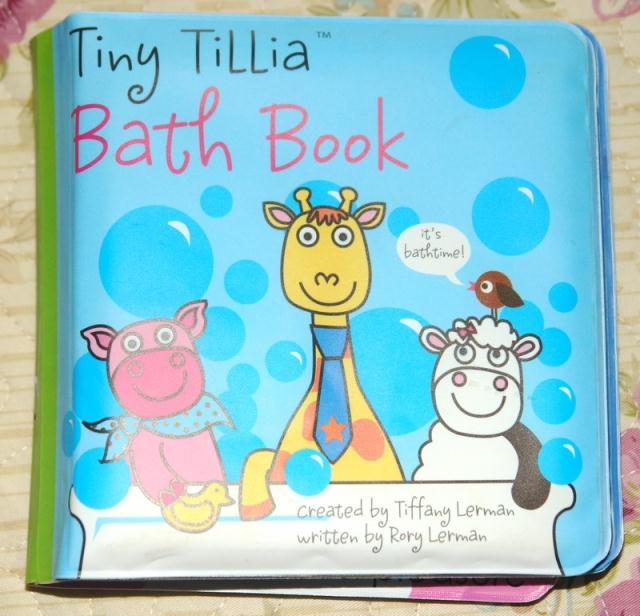 New to the original English Ting tillia bath bath book book books children puzzle books torn not broken