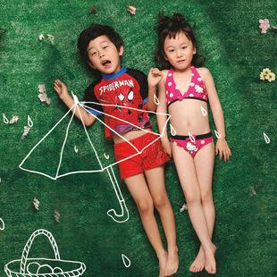 儿童 商城/韩国儿童泳衣 女童分体......
