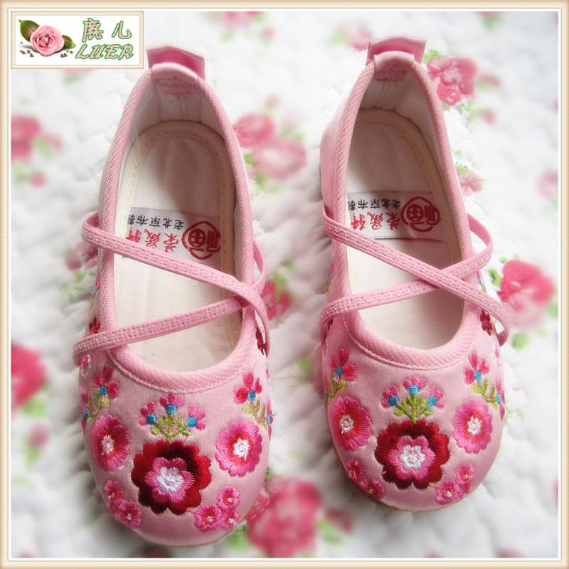 текстильная детская обувь OTHER Девушки Шёлковая поверхность Все сезоны
