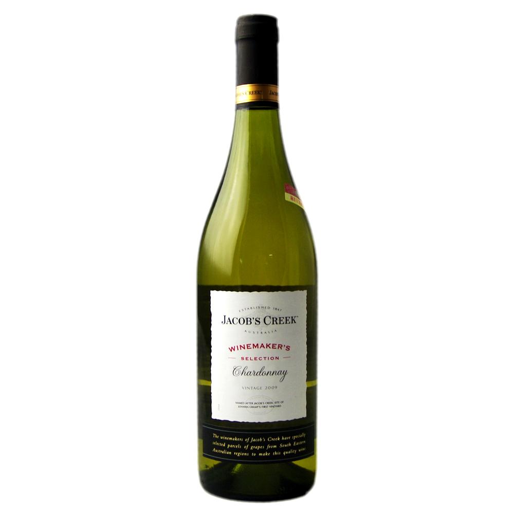 正品进口洋酒澳洲红酒 澳大利亚杰卡斯酿酒师 霞多丽干白葡萄酒