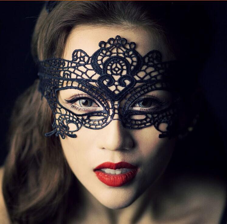 Фабрика оптом. Свадебные фото сексуальная Пром партии кружево маска половину лица маска весело очки