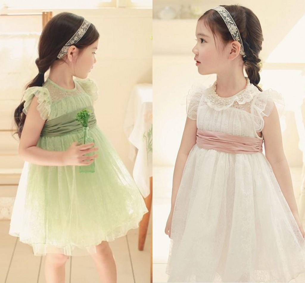年中促销免邮 韩国童装女童2013夏装连衣裙 儿童蕾丝公主裙礼服裙