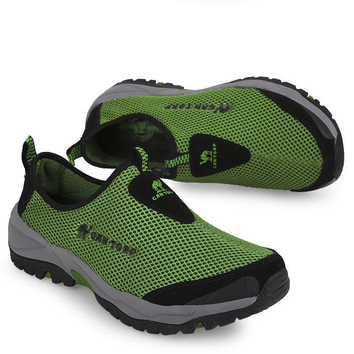 трекинговые кроссовки Открытый альпинизма летом сетки дышащий одежда мужская обувь платформы путешествия тропа работает чистая обувь Обувь для отдыха Лето 2013 Китай Мужчины