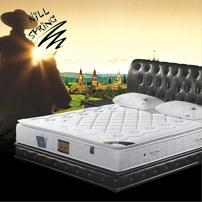 进口品牌 天然乳胶床垫独立弹簧席梦思1.8米 单双人可定做 摩泽尔