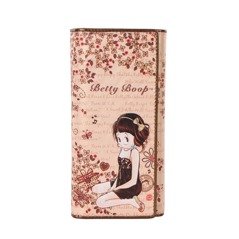 Betty Boop/Betty 2013 pushes new stylish cartoon cute 20 percent long wallet A4077-15