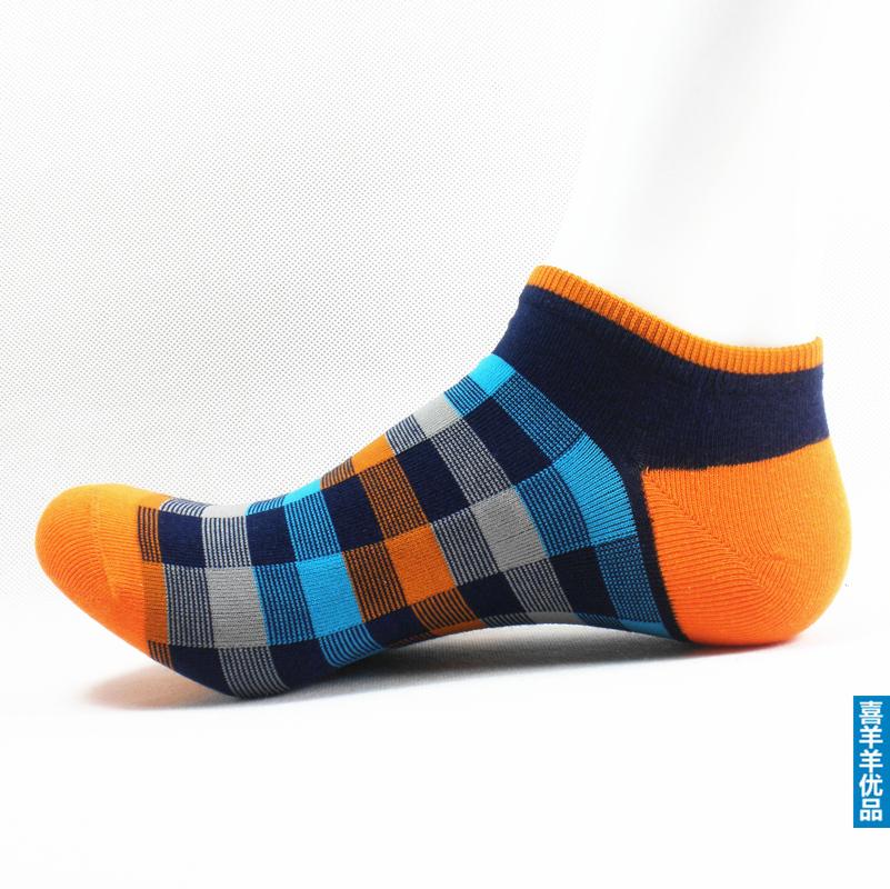 Носки до щиколотки Для молодых мужчин 100 хлопок Хлопок Весна % Индивидуальный