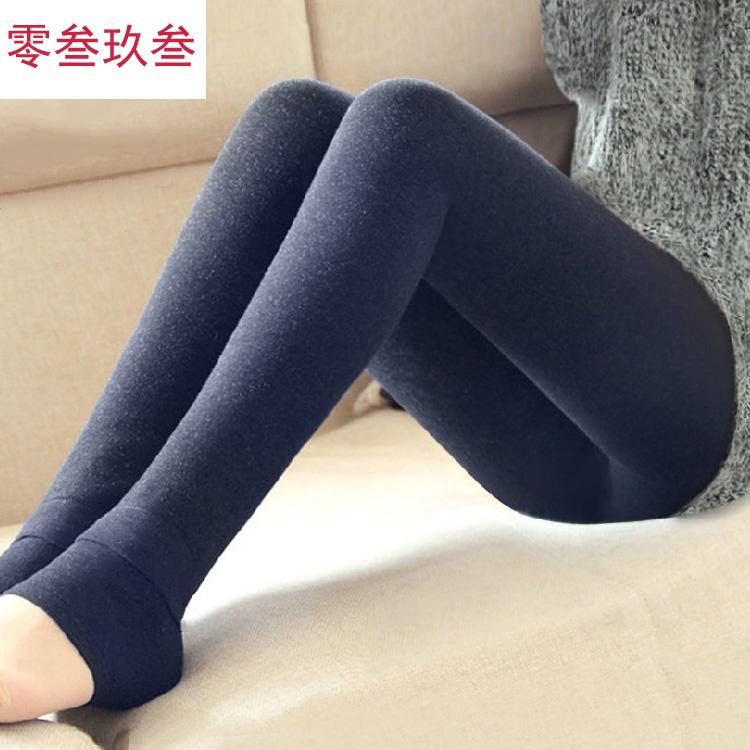 零叁玖叁 七彩棉加厚打底裤女士 韩版外穿秋冬修身显瘦加绒一体裤