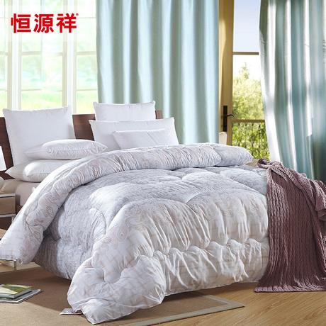 恒源祥家纺 时尚舒适被 新品加厚双人冬被 纤维被 被子床上用品商品大图