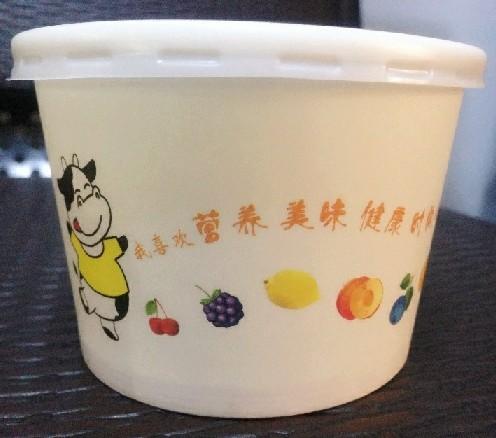 Бумажный стакан 6.5-унции йогурт йогурт Йогурт кубки фаршированная одноразовые чашки являются теленка Йогурт кубки чаша