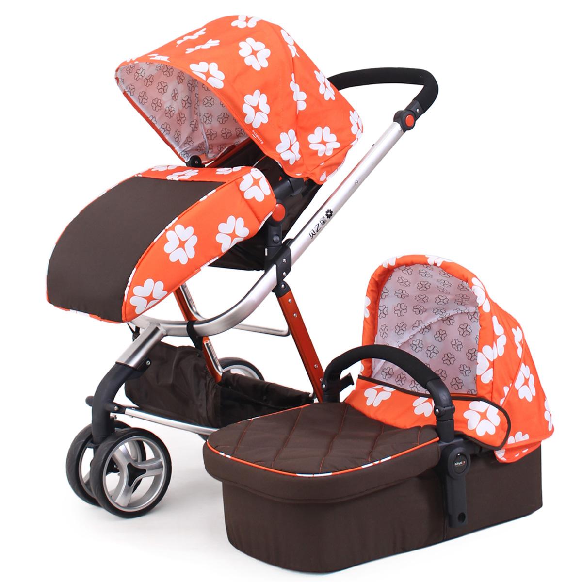 包邮 出口欧洲贝之星高景观婴儿手推车宝宝BB童车 三轮 轻便 睡篮