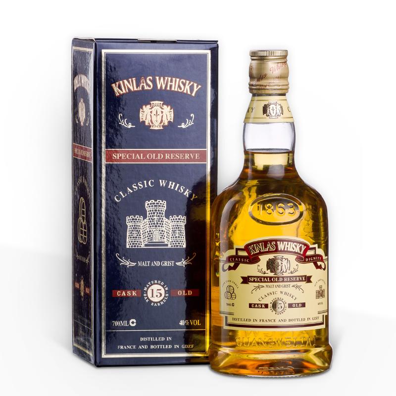 随意买 15年卡兰斯威士忌 法国进口正品洋酒 700ml