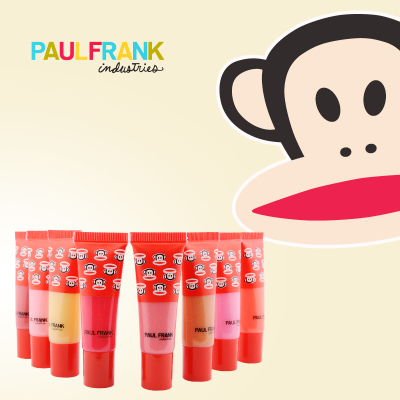 Paul Frank monkey mouth natural plant Lip four suits wild colors controlled by you authentic