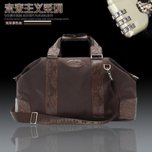 The new 2014 han edition tide male bag shoulder bag inclined shoulder bag handbag oversize recreation bag mail sent combination lock