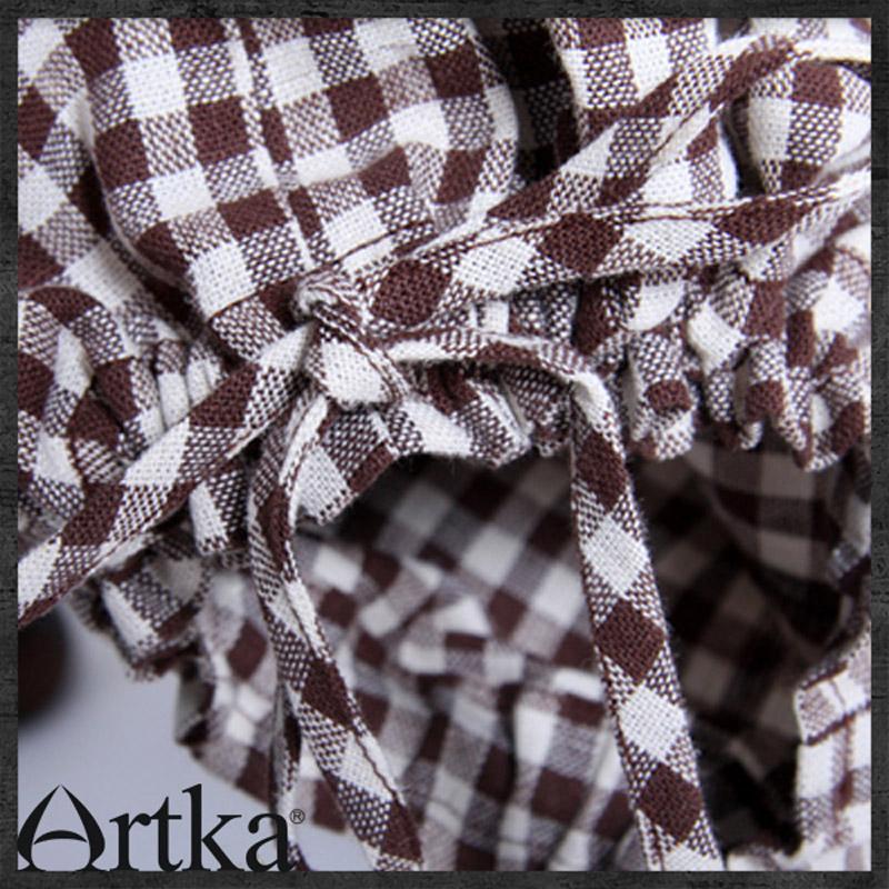 Женские брюки Artka a04601 Длинные брюки Костюм Повседневный Лето 2012 Разное С поясом на спине