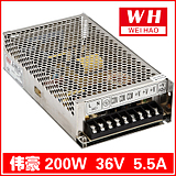 Francis 200W Switching Power Supply DC36V DC power supply 36V/5.5A 2-year warranty Model S-200-36