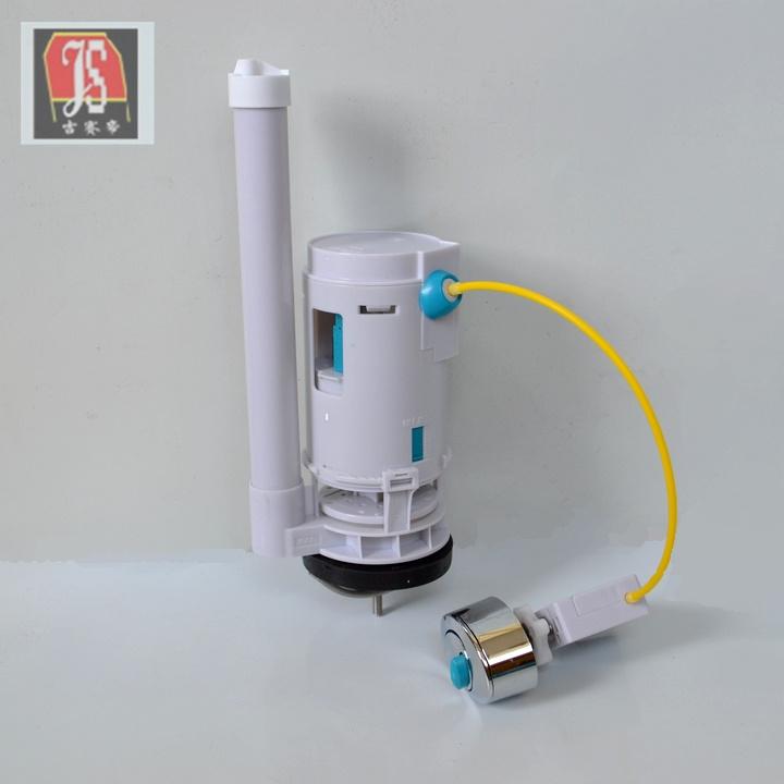 吉赛帝水箱冲水/座便器水箱排水阀配件 气压式按钮连体马桶冲水阀图片