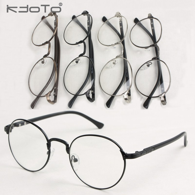 The new -metal -framed glasses frame myopia men ultralight fine ...