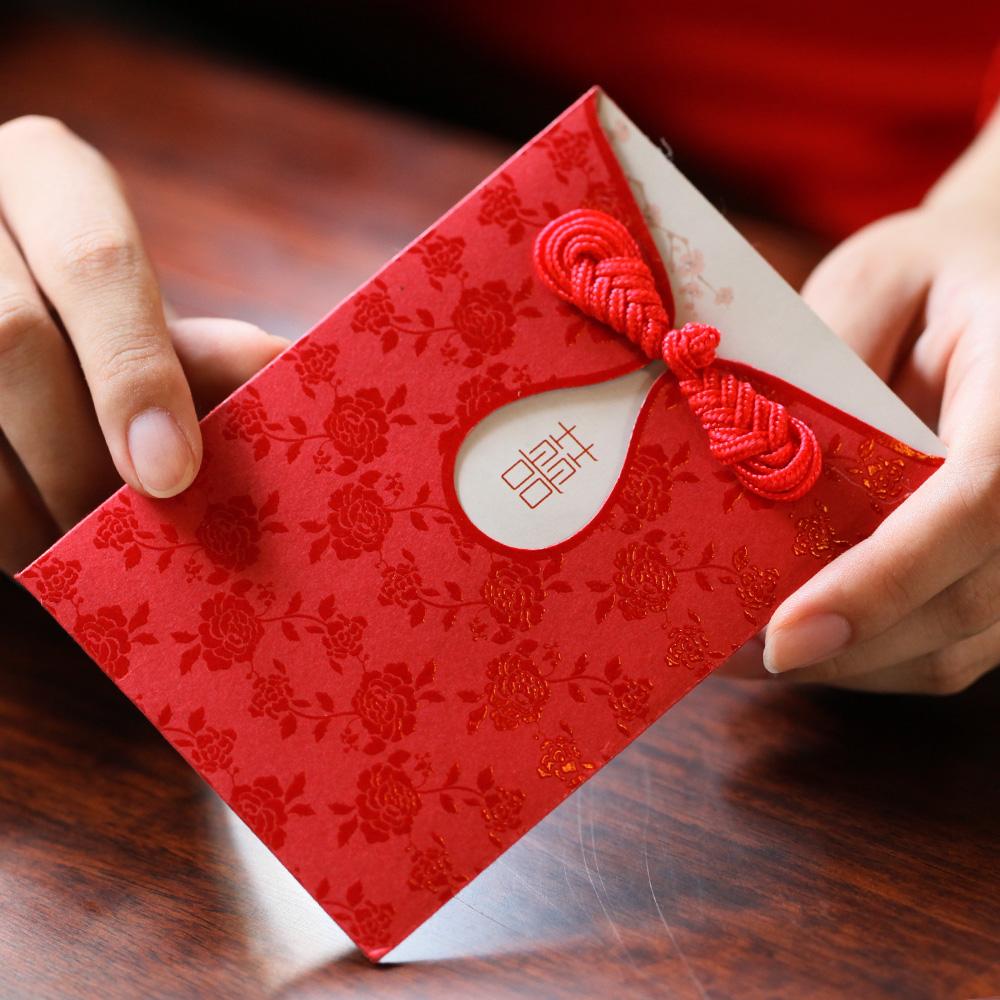 烟雨集 鸾禧小红包袋迷你红包结婚创意红包结婚红包利是封