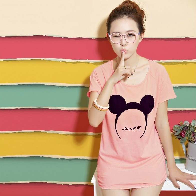 Connie love in summer 2013 new Korean end of summer clothing women's clothing cotton shirt blouse short sleeve t shirts women
