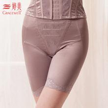 婷美塑身裤正品提臀收腹裤束身裤LC0708三分裤锦纶纯色中腰复合图片