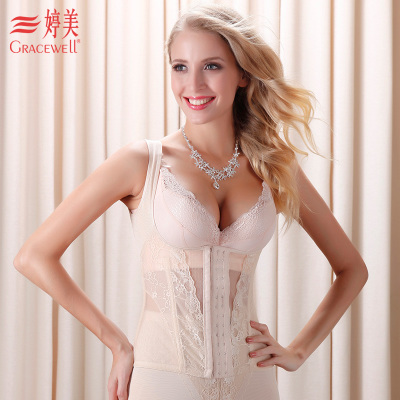Ms. Ting Mei Lei magic mesh yarn girly breast care abdomen posture correction dazzling compact body shaping garment