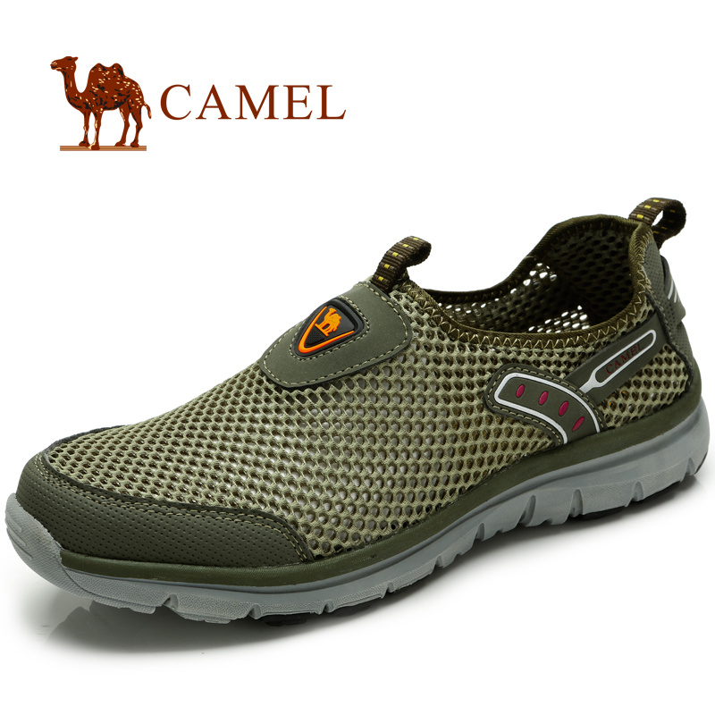 Camel camel outdoor couple shoe breathable mesh breathable shoes leisure shoes walking shoes