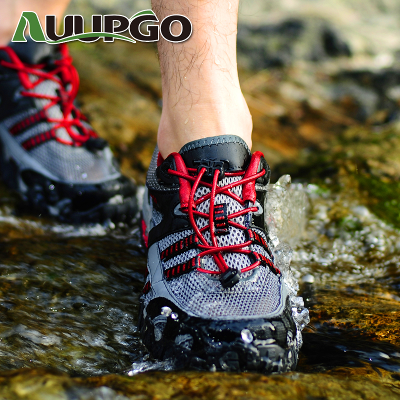 Summer Outdoor Shoes hiking shoes authentic upstream air permeability wading shoes fishing shoes for men and women walking shoes
