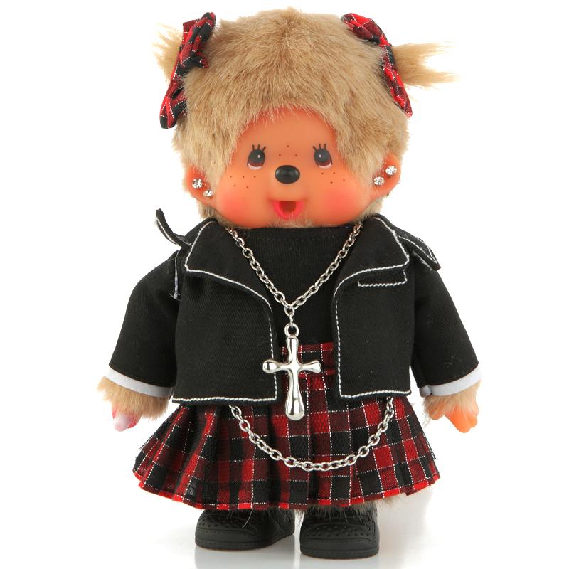 包邮正版蒙奇奇洋娃娃 可爱布娃娃 毛绒玩具 公仔玩偶 生日礼物女