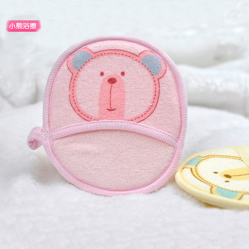 宝宝沐浴擦 沐浴棉 沐浴球 婴儿童新生儿宝宝母婴用品 100%棉料