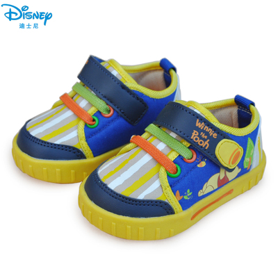 Disney children's shoes authentic shoes new spring models boys and girls baby shoes breathable all-cotton non-slip