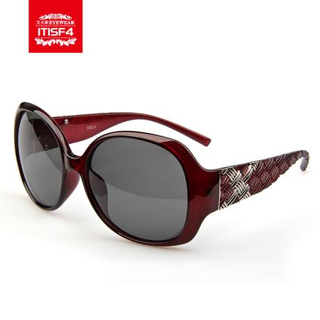 艾夫斯 正品2013新款女士偏光太阳镜防紫外线墨镜 7010商品大图