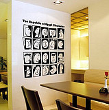 JIAMEI Hours section B clothing store shop window glass Hours custom wall stickers decals stickers