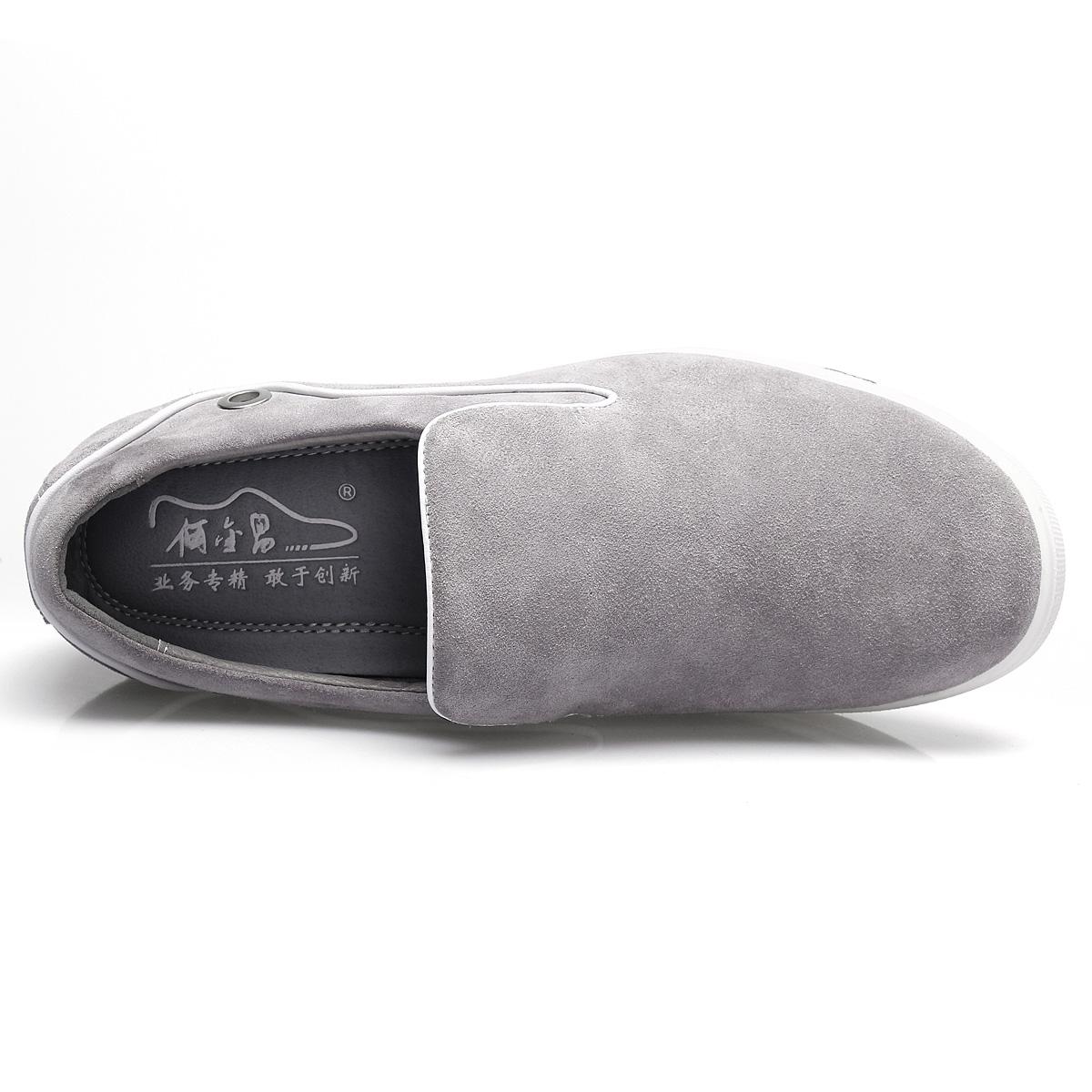 Демисезонные ботинки AJINCHANG x4925 Обувь на тонкой подошве ( для скейтборда ) Спортивный Двухслойная натуральная кожа Круглый носок Без шнуровки Лето