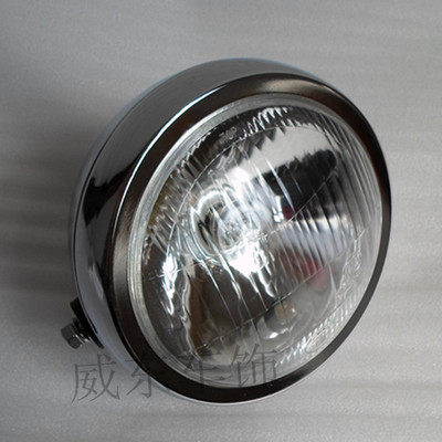 Original quality Suzuki GN125 Prince headlight assembly headlight assembly motorcycle accessories 5-inch glass 13CM