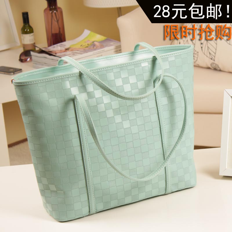 Korean 2013 new bag Candy-colored shoulder bag handbag fashion Europe and the wave of retro bag handbag bag