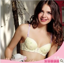Authentic compensate 14 to 18 years old girl bamboo fiber, high junior middle school pupil A063 underwear soft steel ring bra