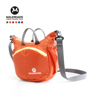 Mailu Shi female models outdoor leisure shoulder bag diagonal package handbag travel shoulder bag