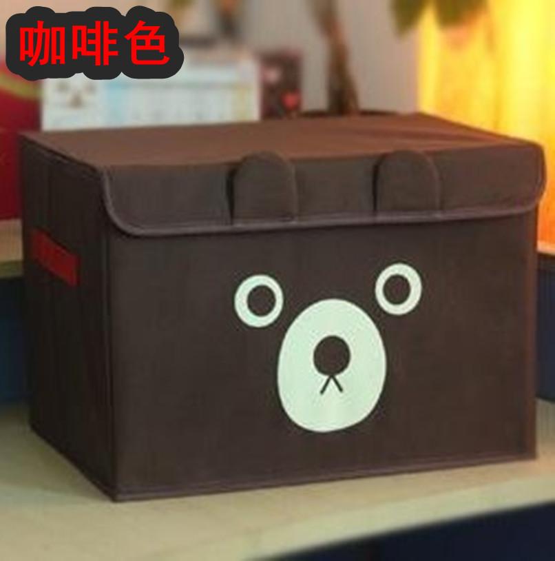 Как из коробки сделать ящик под игрушки