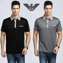 Counters authentic Italian brand new spring and summer 2013 men's fashion casual short-sleeved POLO shirt tide male DP