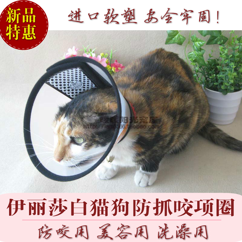 2 national neck rings/collars/包邮 Elizabeth sheath preventing dog bite/lick cats General