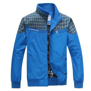 Куртка K/boxing F/333 2013 Другие натуральные волокна Воротник-стойка Модная одежда для отдыха