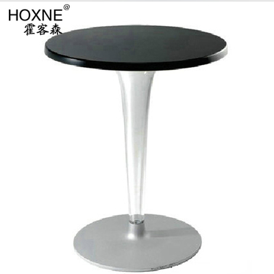 Huo Sen off stainless steel dining table Devil Roundtable A balcony table models parlor tables coffee table marble dining table