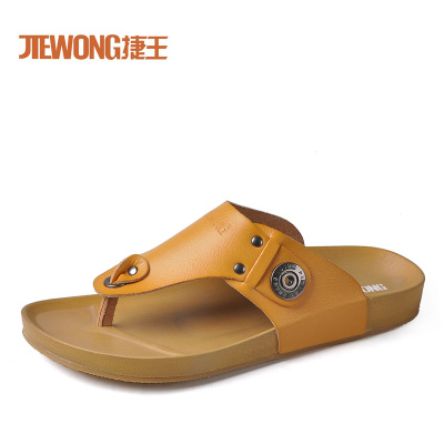 Wang Jie JIEWONG 2013 summer new men's thong super soft and comfortable breathable everyday casual sandals and slippers