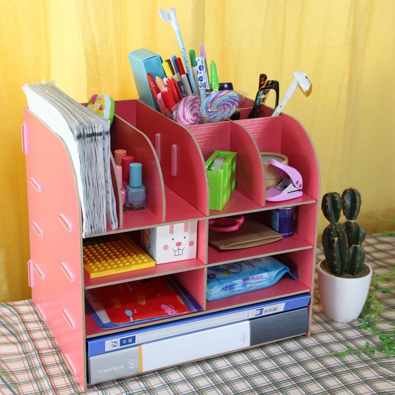 Органайзер из картона для рабочего стола