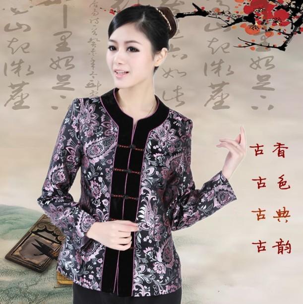 Блузка в китайском национальном стиле WNS